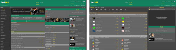 Bet365 global betting site