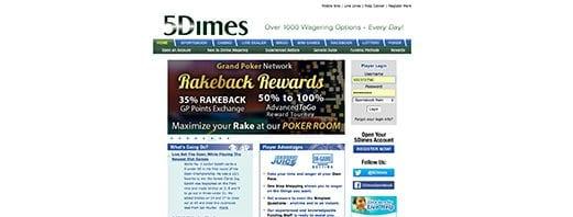 5Dimes USA online sportsbook