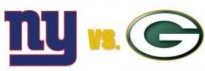 Giants vs. Packers
