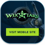 Wixstars mobile casino iPhone, iPad, Samsung Galaxy