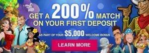 Sign up bonuses for Slots.lv online and mobile casino