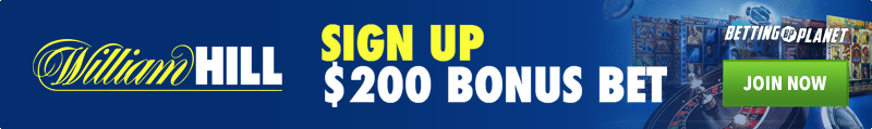 William Hill welcome sign up bonus package
