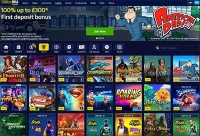 William Hill instant-play no download online casino
