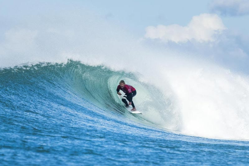 JJ Florence at the 2017 Corona J-Bay Open