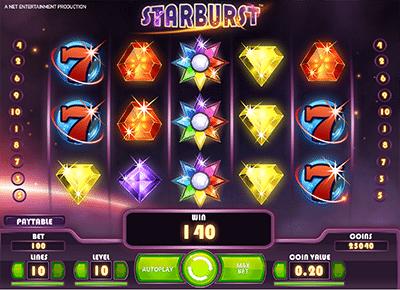 Starburst online slot game for Kenyan players