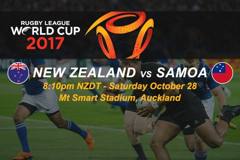NZ vs Samoa 2017 WC