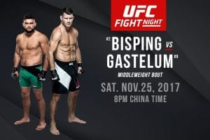 Bisping vs. Gastelum UFC China