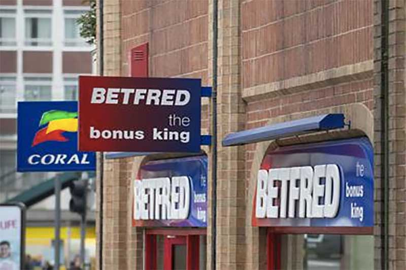 Betting shops in trouble for