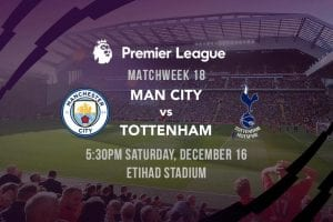 Man City vs. Spurs EPL betting