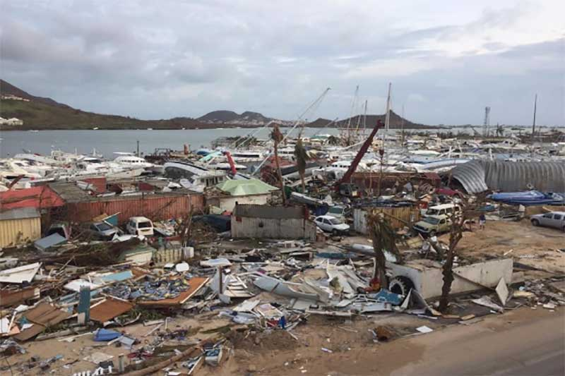 Barbuda destroyed by Irma