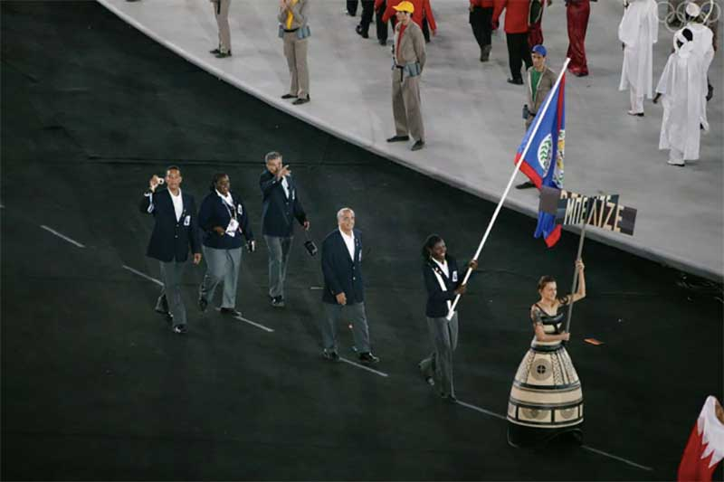 Belize at Olympics in 2004