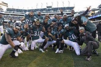 Philadelphia Eagles wins Super Bowl