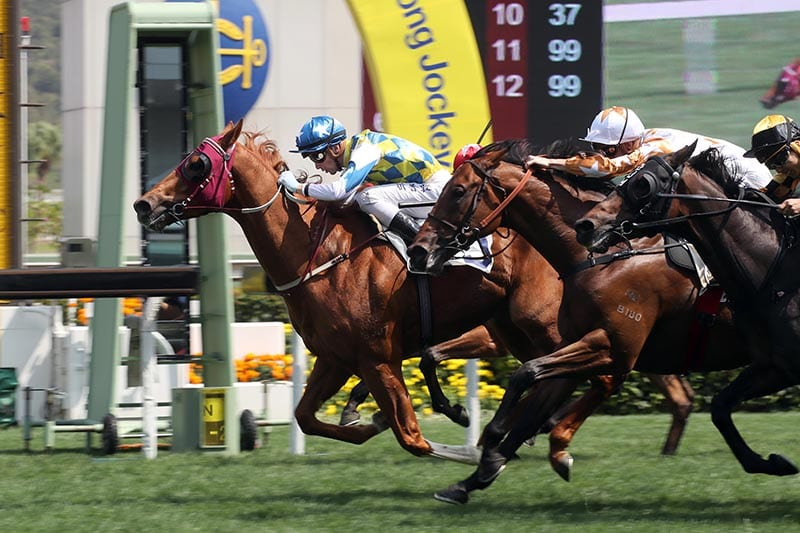 Sam Clipperton and Solar Patch win at Sha Tin