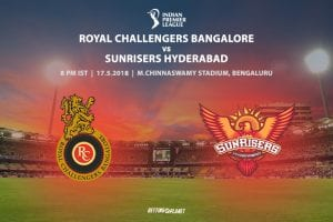 RCB vs. Sunrisers