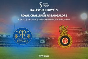 Royals v Royal Challengers