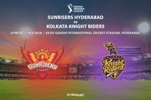 Sunrisers v KKR