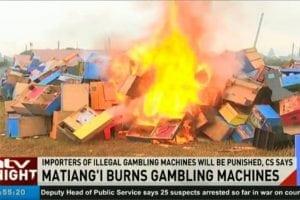 Burning machines