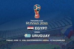 Egypt vs. uruguay World Cup