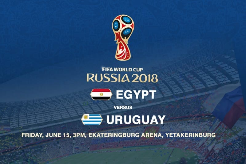 Egypt vs. uruguay World Cup