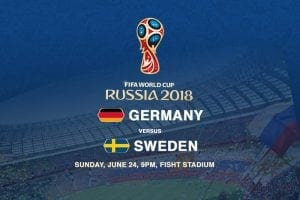Germany v Sweden
