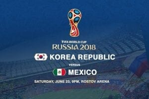 South Korea v Mexico