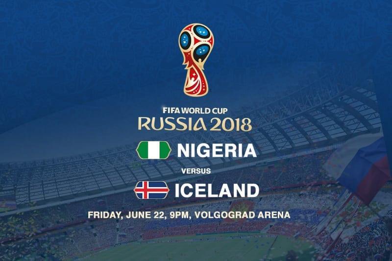 Nigeria v Iceland