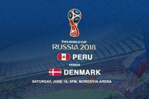Peru v Denmark