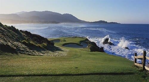 Hole #7 at Pebble Beach