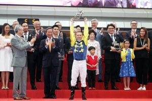 Jockey Zac Purton crowned Hong Kong's best