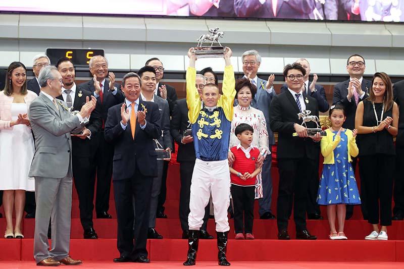 Jockey Zac Purton crowned Hong Kong's best