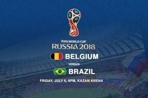 Belgium v Brazil