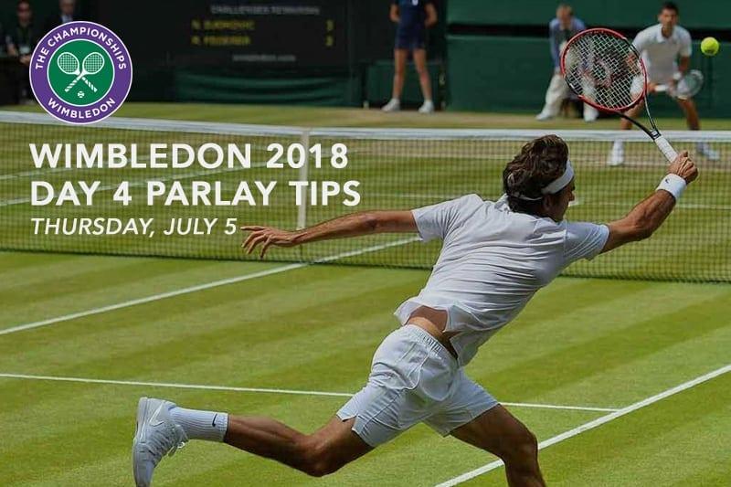 Wimbledon Day 4 parlay