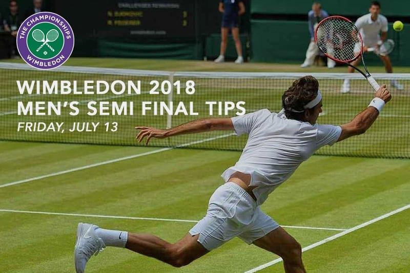 Wimbledon men's semis
