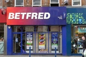 Betfred online sports betting - will get VAT tax payments back