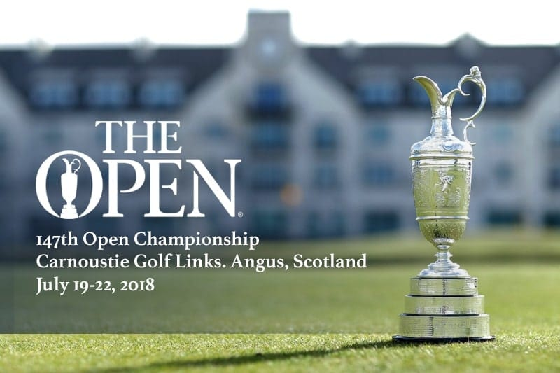 British Open golf odds