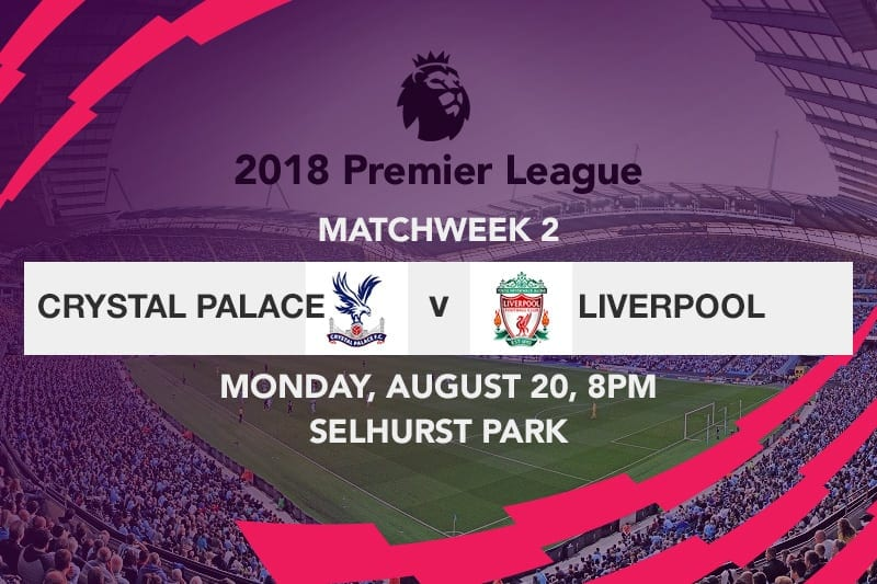 Crystal Palace v liverpool