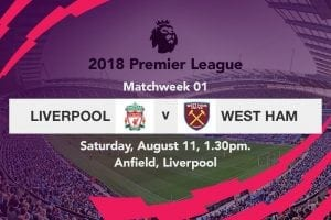 Liverpool v West Ham