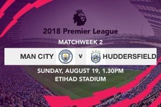 Man City v Huddersfield