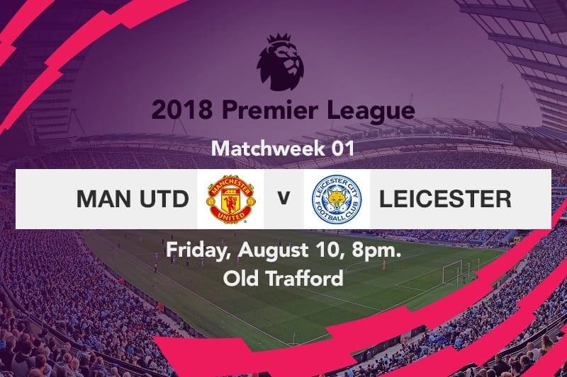 Man Utd v Leicester