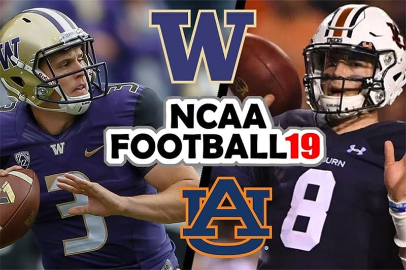 Washington Huskies vs. Auburn Tigers