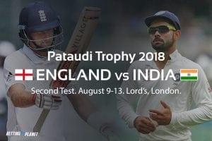 England vs. India cricket betting