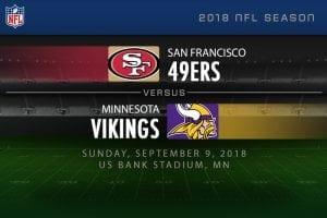 49ers vs. Vikings