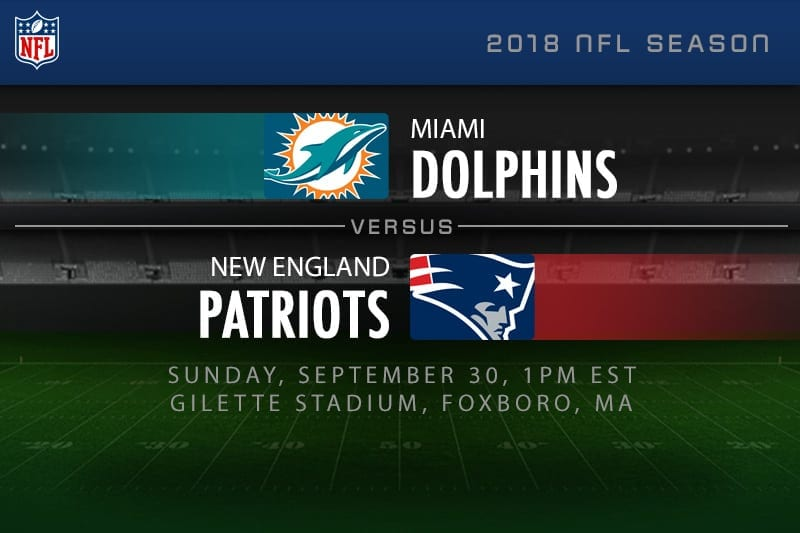 a5213a6a6 Dolphins vs. Patriots spread odds & result tips | 2018 NFL betting