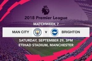 Man City vs. Brighton