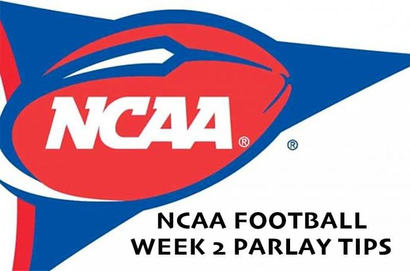 NCAA Football week 2 parlay | free college football analysis & picks