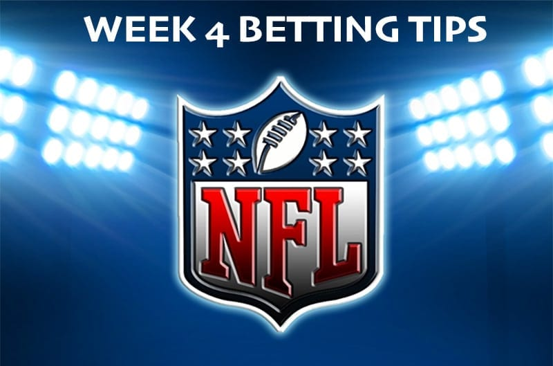 NFL Week 4 tips