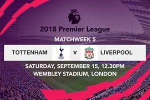Spurs v Liverpool week 5