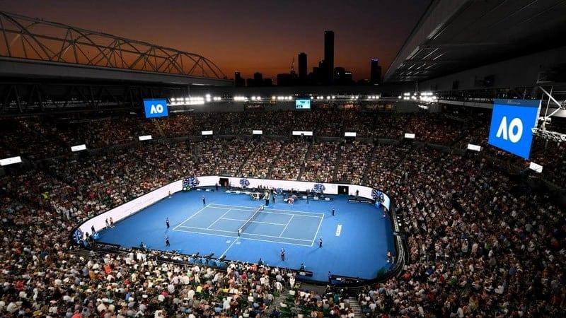 Melbourne Park Australian Open tennis