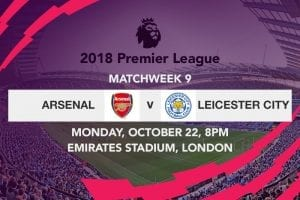 Arsenal v Leicester City