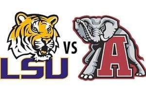 LSU v Alabama
